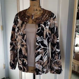 Chico's  jacket size 2 or L